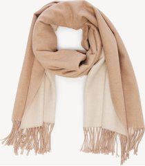 women's over reversible scarf camel multi from sole society