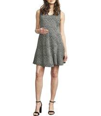 women's maternal america overlay wrap maternity/nursing dress