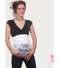 op en top zwanger zwangerschaps buikband a star will be born wit