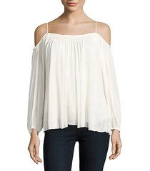 traveler cold-shoulder top