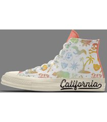 custom west coast chuck 70 high top