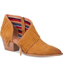 dingo women's kindred spirit leather bootie women's shoes