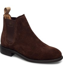 ainsley chelsea shoes chelsea boots brun gant