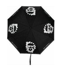 karl lagerfeld guarda-chuva k/ikonik - preto