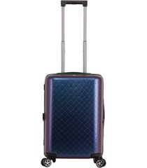 "triforce david tutera malibu 22"" carry on spinner luggage"