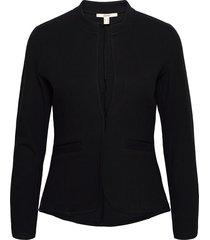 blazers knitted stickad tröja cardigan svart esprit casual