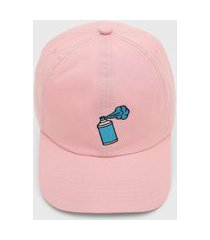 boné kanui dad cap spray rosa