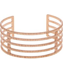 bracciale bangle big in bronzo rosato per donna