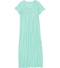 camicia da notte lunga (verde) - bpc bonprix collection