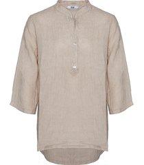 tiffany shirt linen, beige, 17661