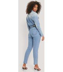 dr denim retro jeans - blue