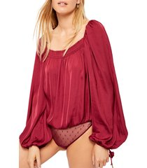 women's free people another round bodysuit