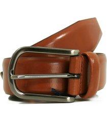 anderson's belt plain leather belt  | honey high shine | 262-c3