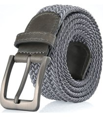 gallery seven men's elastic braided stretch belt
