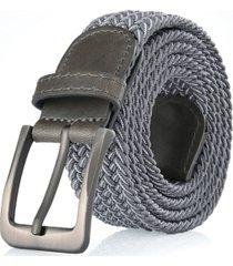 gallery seven men's elastic braided stretch belt