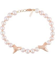 new classic pearl shark bracelet