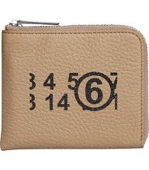 mm6 maison margiela wallet with logo