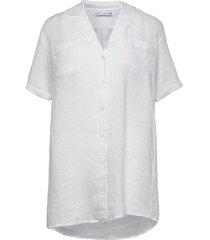 calderea shirt dress tuniek wit faithfull the brand