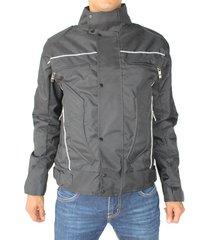 chaqueta con protección para moto - aranzazu negro