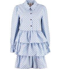 baum und pferdgarten anya poplin mini dress