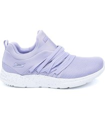 tenis rosado skechers bobs sport sparrow - moon lighter