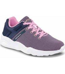 tenis irazu rosado-azul oscuro para mujer croydon