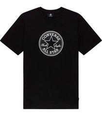 converse camiseta chuck taylor modern black