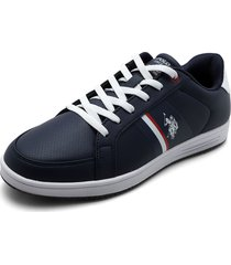 tenis azul-blanco us polo assn