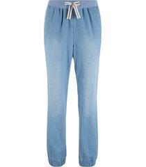 pantaloni comfort con laccetto a righe (blu) - bpc bonprix collection