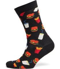 hamburger sock underwear socks regular socks multi/mönstrad happy socks