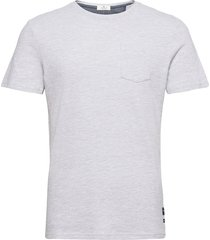 t-shirt with t-shirts short-sleeved grå tom tailor