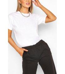 basic oversized t-shirt, white