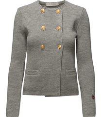 kelly jacket blazer colbert grijs busnel