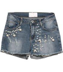 sweet secrets denim shorts