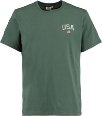 america today t-shirt emerson chest groen