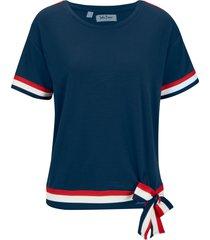 maglia a maniche corte (blu) - john baner jeanswear