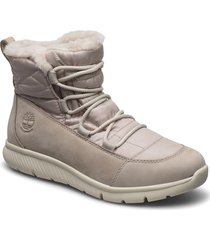 boltero winter bt lt gry shoes boots ankle boots ankle boots flat heel grå timberland