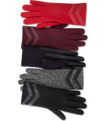 isotoner signature smartdri chevron stretch touchscreen gloves