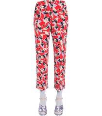 n.21 crepe de chine pajama trousers