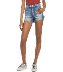 lee high waist dungaree shorts, size 33 in vintage essex at nordstrom