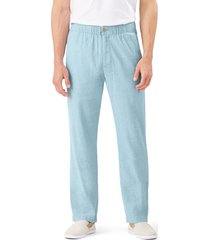 men's tommy bahama relaxed fit linen pants, size xx-large - green