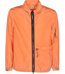 c.p. company side zipped pocket detail jacket