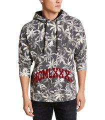 guess men's palm tree hoodie