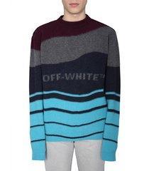 off-white crew neck sweater