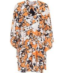 túnica marmorizado brick animale - laranja