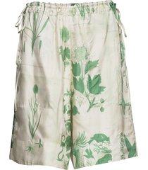 eytelia x shorts flowy shorts/casual shorts grön tiger of sweden