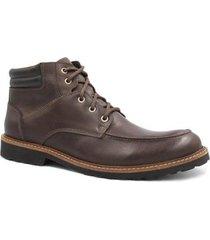 bota zariff shoes coturno em couro masculina