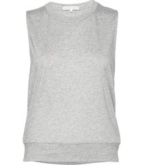 cool-down top t-shirts & tops sleeveless grå filippa k soft sport