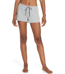 alo daze shorts, size x-small in shadow grey at nordstrom