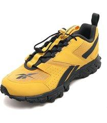 tenis running amarillo-gris reebok dmxpert
